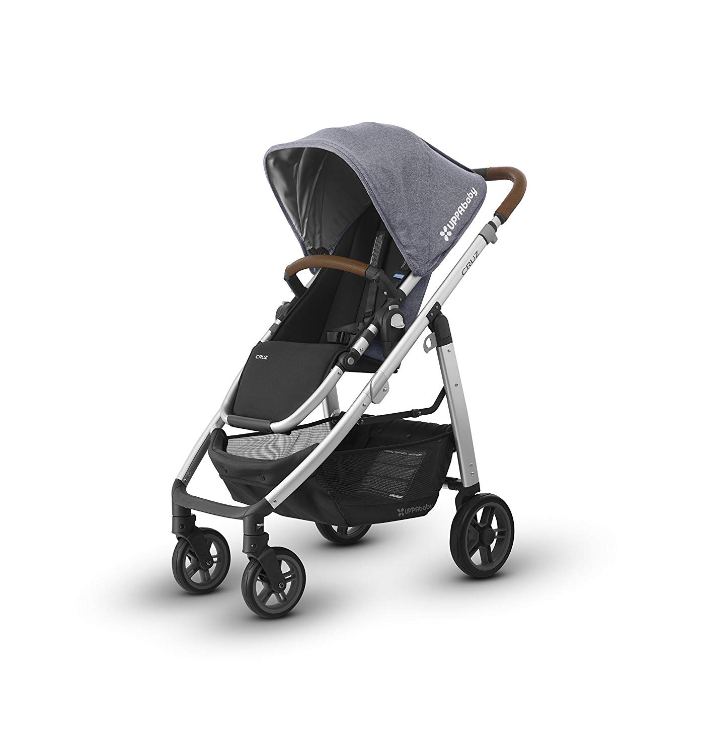 The UPPAbaby Cruz features an impeccable design and useful storage solutions.