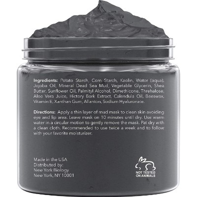 dead sea mud mask gift ideas for teenage girls back view
