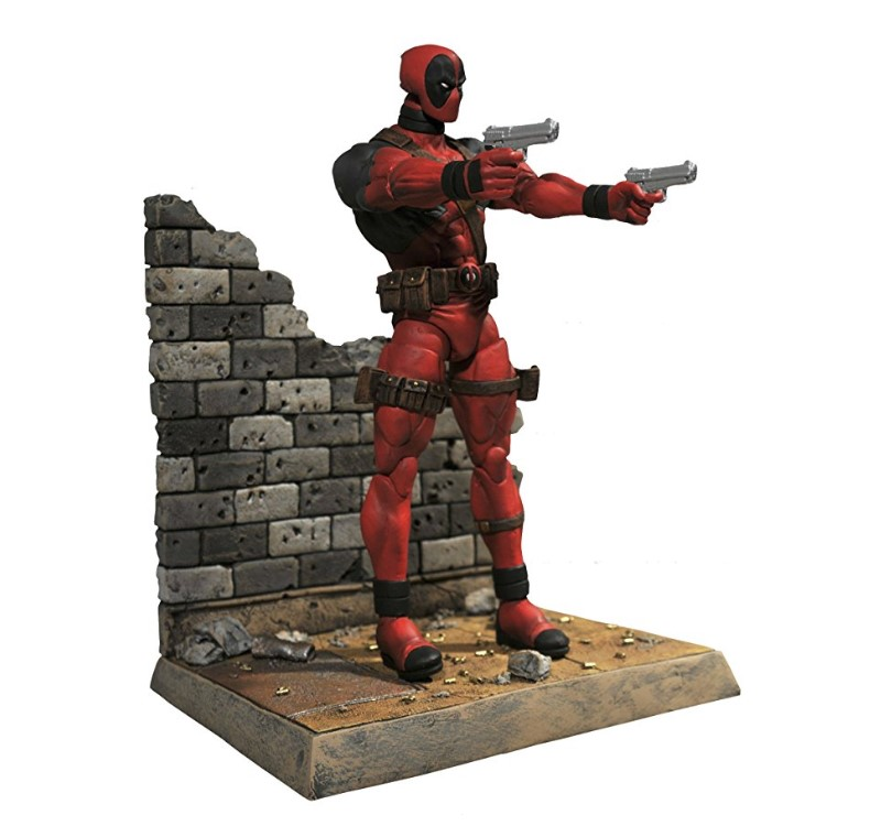 The Diamond Select Toys Marvel Select: Deadpool Action Figure is 7