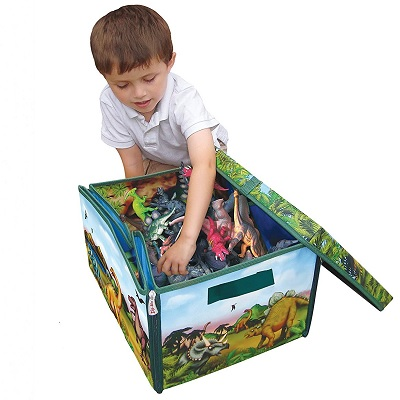 zipBin 160 collector dinosaur toys for kids kid playing