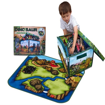 zipBin 160 collector dinosaur toys for kids set