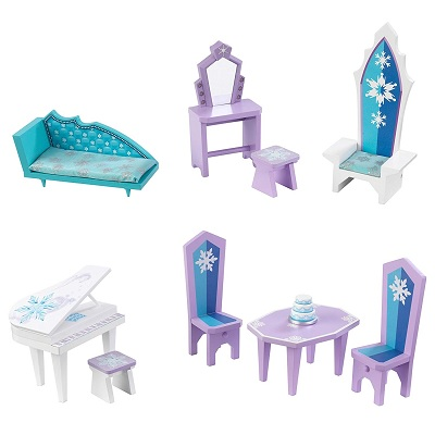 disney frozen ice castle dollhouse accessories