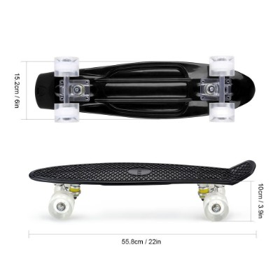 minority 32inch maple kids skateboard size