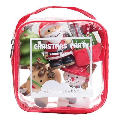elegant baby rubber bath christmas toy pack