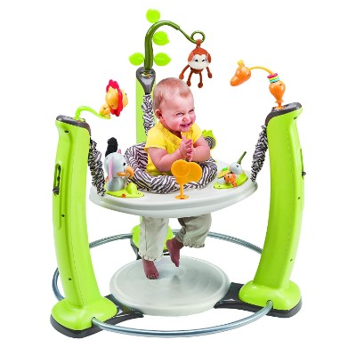 evenflo exerSaucer jump & learn infant & baby jumper and bouncer baby inside