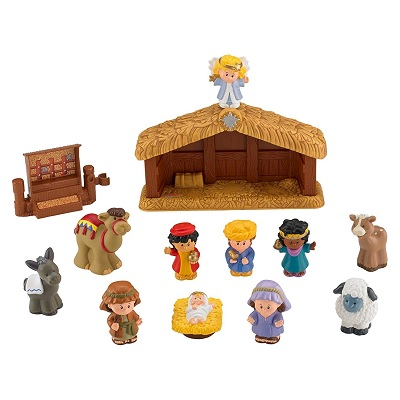 fisher price little people christmas toy pieces