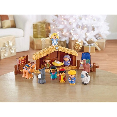 fisher price little people christmas toy nativity