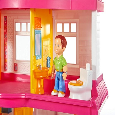 my first dollhouse rooms