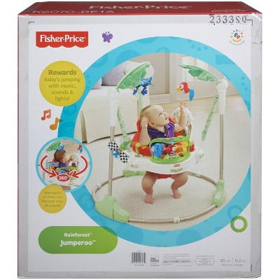 fisher price rainforest jumperoo baby & infant jumper and bouncer box