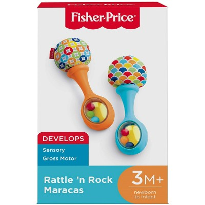 Fisher-Price Rattle 'n Rock Maracas Cheap Baby Toys package