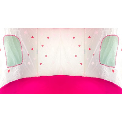 Fox Print Princess Castle Play Tent for girls