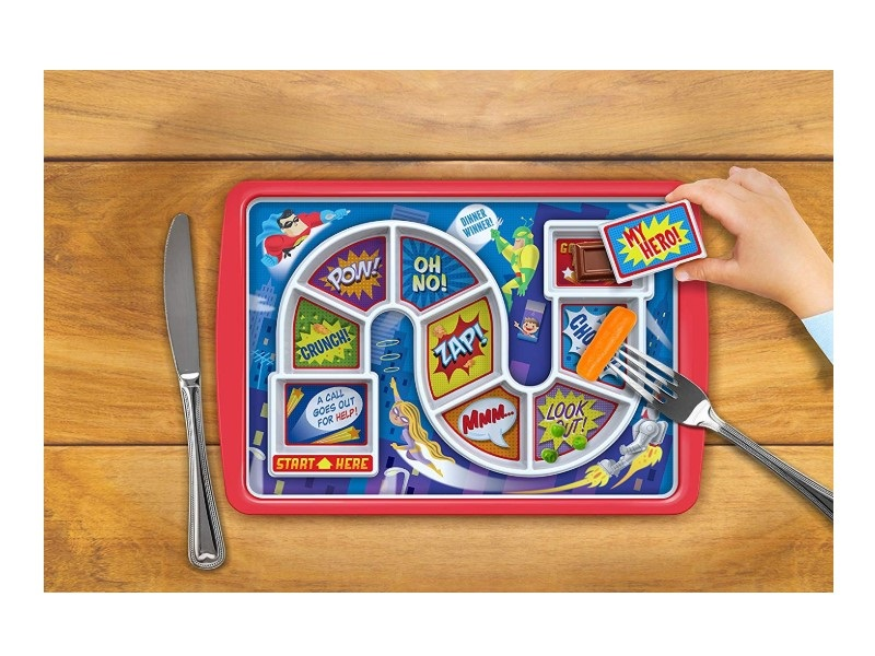The Fred DINNER WINNER Kids' Dinner Tray is made of quality materials.