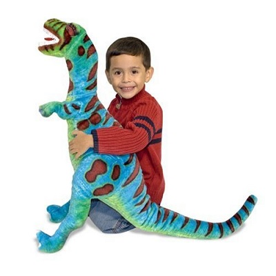 giant t-rex stuffed animal dinosaur toys for kids kid playing