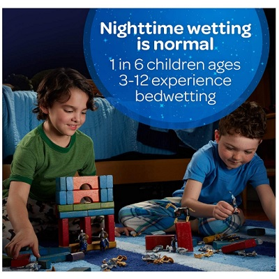 goodNites bedtime bedwetting overnight diapers information