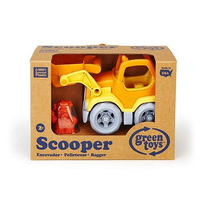 green toys scooper vehicle toy car pack