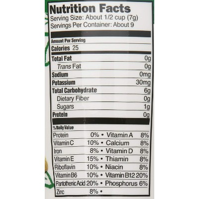 happy baby superfood puffs organic baby cereal nutrition facts