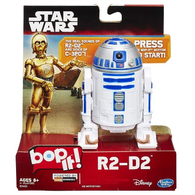 R2D2 Bop It Game star wars toy pack