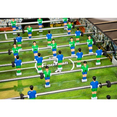 hathaway playoff soccer foosball table details