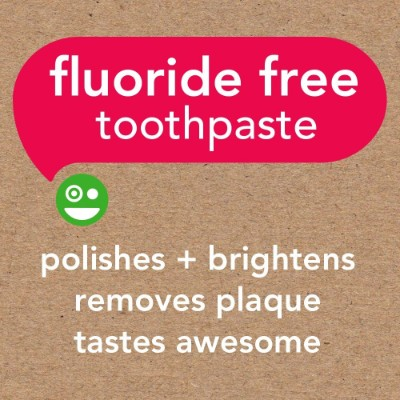 hello oral care fluoride free watermelon toddler toothpaste features
