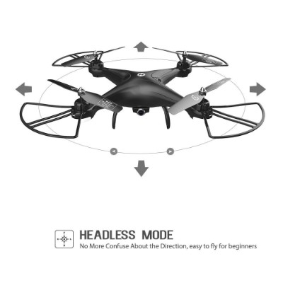 holy stone HS110D FPV RC drone flying toys headless mode