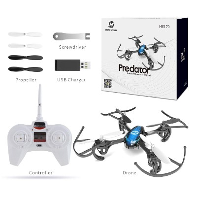 predator mini RC helicopter drone flying toy box