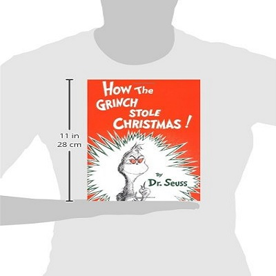 how the grinch stole christmas book measurements