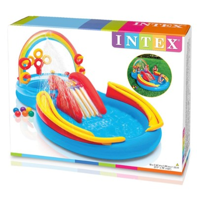 Mother & Kids Careful Swim Toys Inflatable Water Play Basketball Plus 3 Rings Swimming Pool Accessories Child Toys Water Football Toys Summer Toys Neither Too Hard Nor Too Soft Accessories