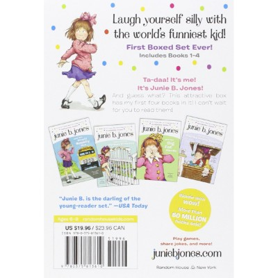 junie b. jones's first boxed set ever books for 7 year olds back