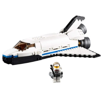 space shuttle explorer cool lego set for kids plane