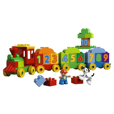 my first number train cool lego set for kids pieces
