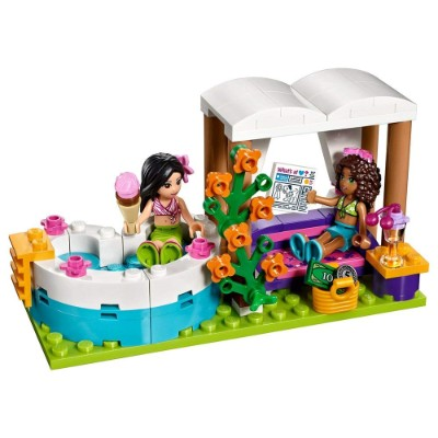 friends heartlake summer pool cool lego set for kids design