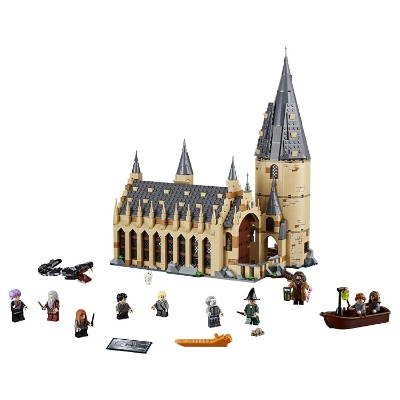 harry potter hogwarts great hall cool lego set for kids pieces