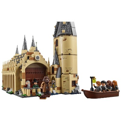 harry potter hogwarts great hall cool lego set for kids assembled