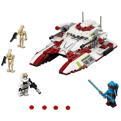 LEGO star wars republic fighter tank pieces