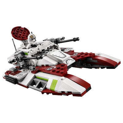LEGO star wars republic fighter tank design