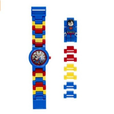 lego dc universe superman watch for kids parts