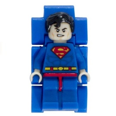 lego dc universe superman watch for kids minifigure