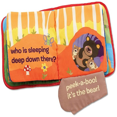 5 Month Old Toys Lamaze PeekABoo Forest Book Page