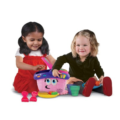 leapFrog shapes and sharing picnic basket learning toy for kids and toddlers play