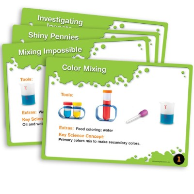 primary science lab activity set pretend play toys for kids cards