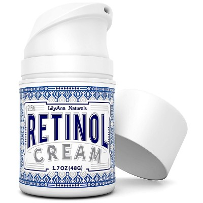 lilyana naturals retinol stretch mark cream pump cap