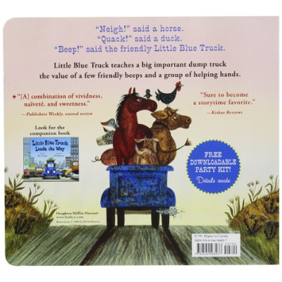 the little blue truck book for 5 year olds back