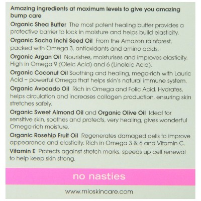 mamma mio tummy Rub stretch mark cream ingredients