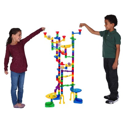 marble genius super set 100 pieces marble runs for kids play
