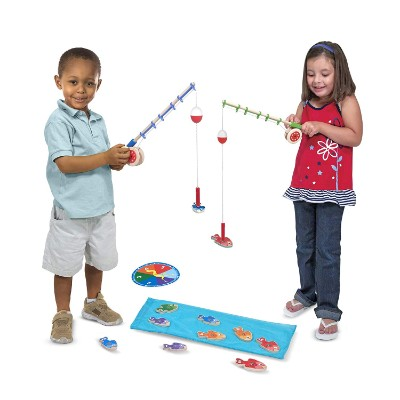 toys that start with f fishing game melissa doug pieces