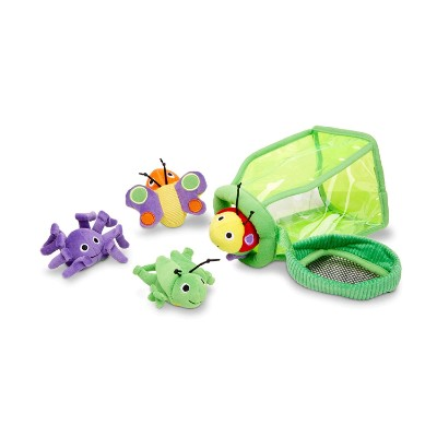 melissa & doug deluxe jug fill & spill bug toys pieces