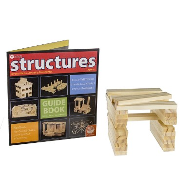 KEVA structures 200 plank set wooden toys for kids and toddlers pieces