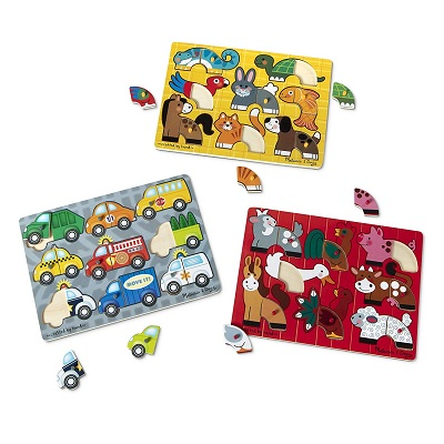 melissa & doug mix 'n match wooden puzzle example