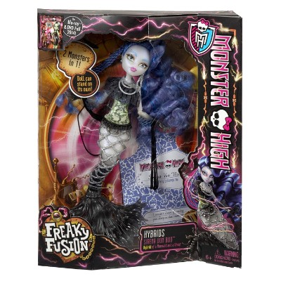 freaky fusion sirena von boo new monster high dolls packaging