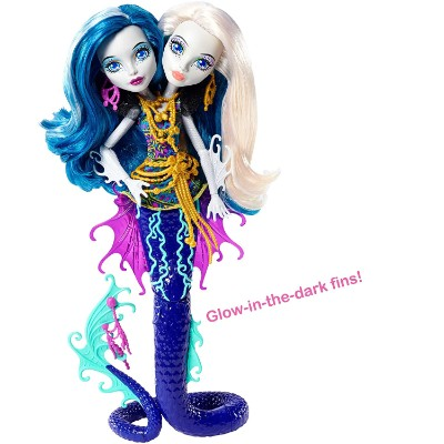 scarrier reef peri & pearl serpintine new monster high dolls body